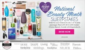 August 2015 Sweepstakes Official Rules: Beauty Under 25