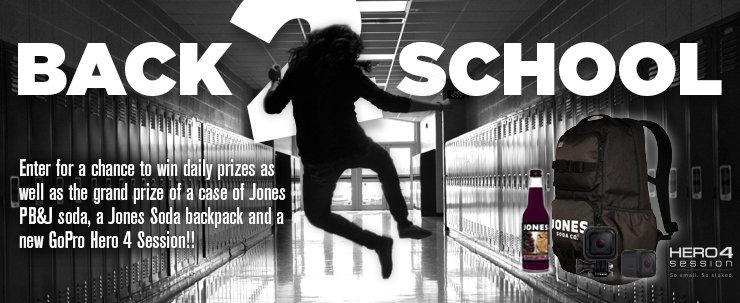 Jones Soda 'Back To School' Sweepstakes