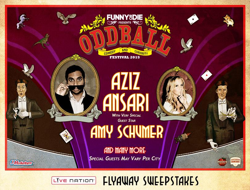 Live Nation Oddball Comedy Festival Flyaway Sweepstakes