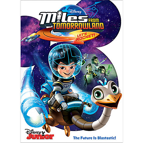 MILES FROM TOMORROWLAND – LET'S ROCKET on DVD 8/11
