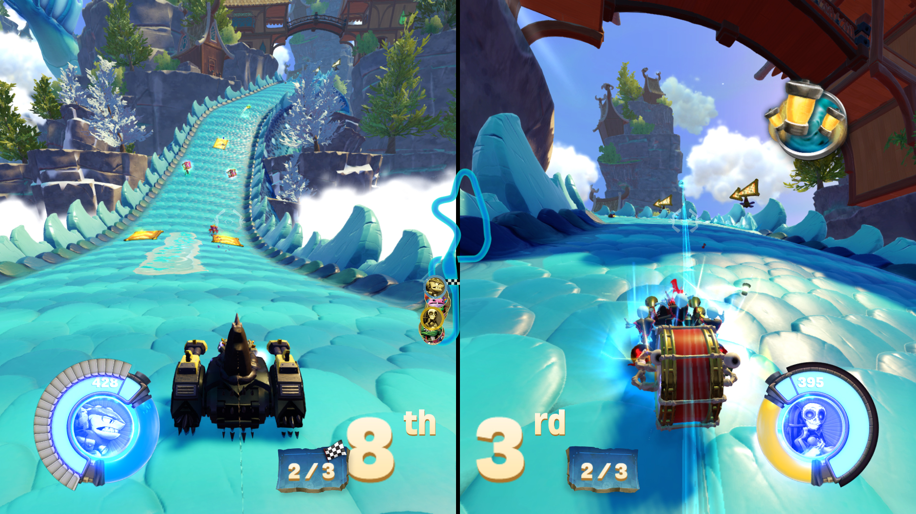 Skylanders SuperChargers Racing for Wii and Nintendo 3DS!