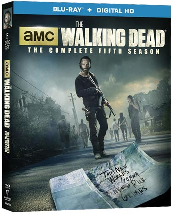 Starpulse - The Walking Dead Season 5 Blu-ray Sweepstakes