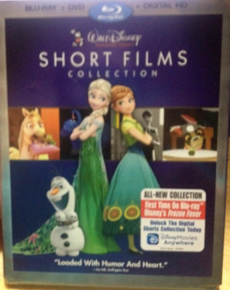 Walt Disney Animation Studios Short Films Collection NOW on Blu-ray