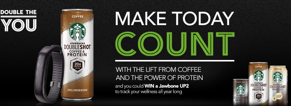 Starbucks Make Today Count 2015 Sweepstakes ends 10/30