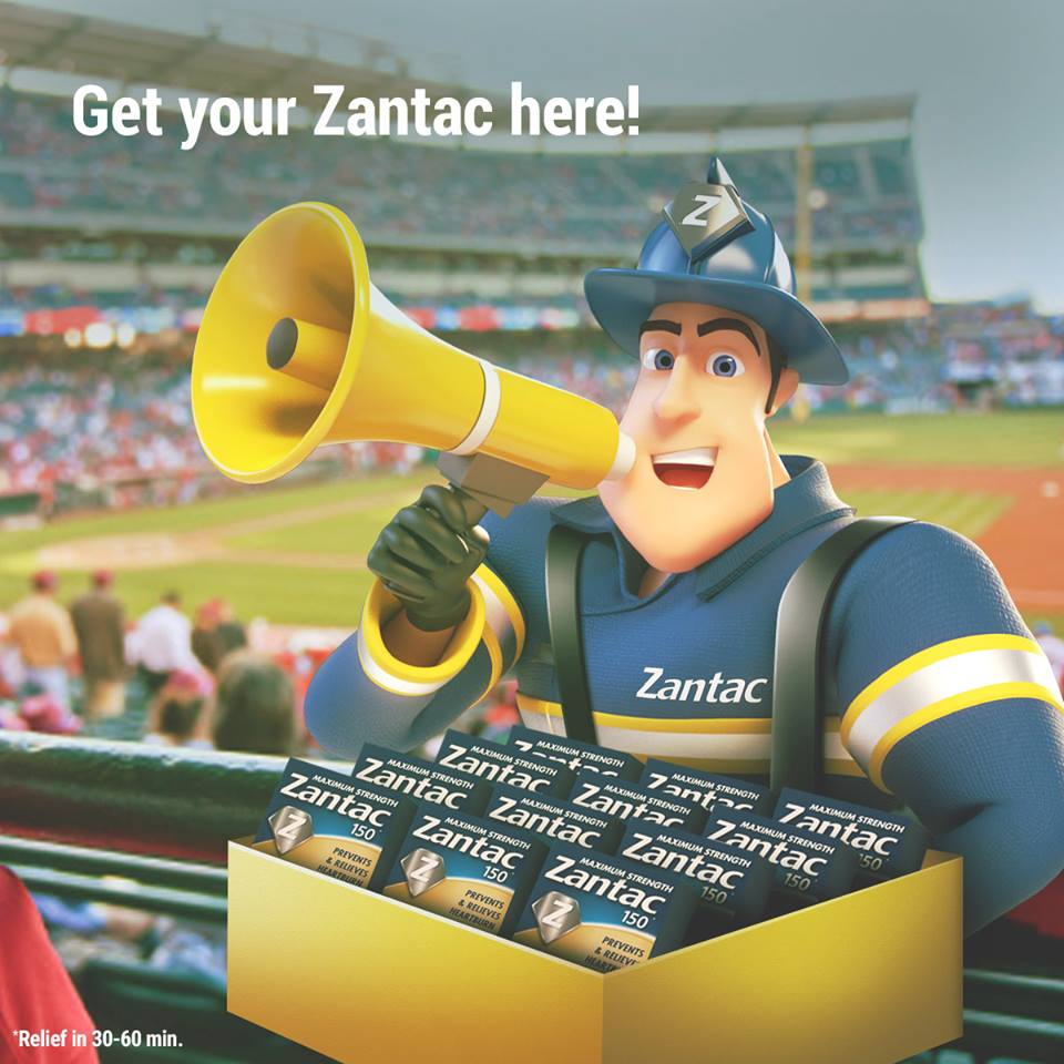 Zantac It Heartburn Challenge Sweepstakes