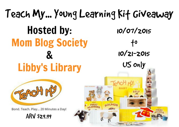 Teach My... Young Learning Kit Giveaway