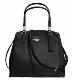 Coach Leather Minetta Crossbody Bag