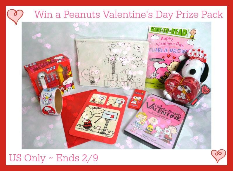 Peanuts Valentine's Day Prize Pack Giveaway