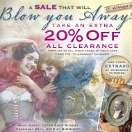 Victorian Trading Co. – Extra 20% off all Clearance!