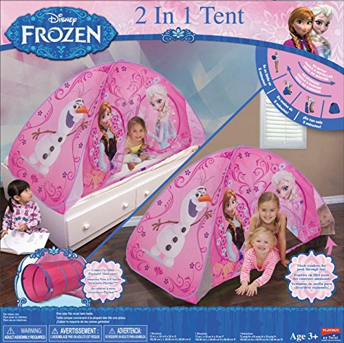 2-in-1 Playhut Frozen Bed Tent