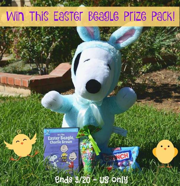 Easter Beagle Prize Pack Giveaway