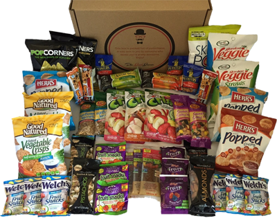 Enter to Win a Healthy Snacks Care Package