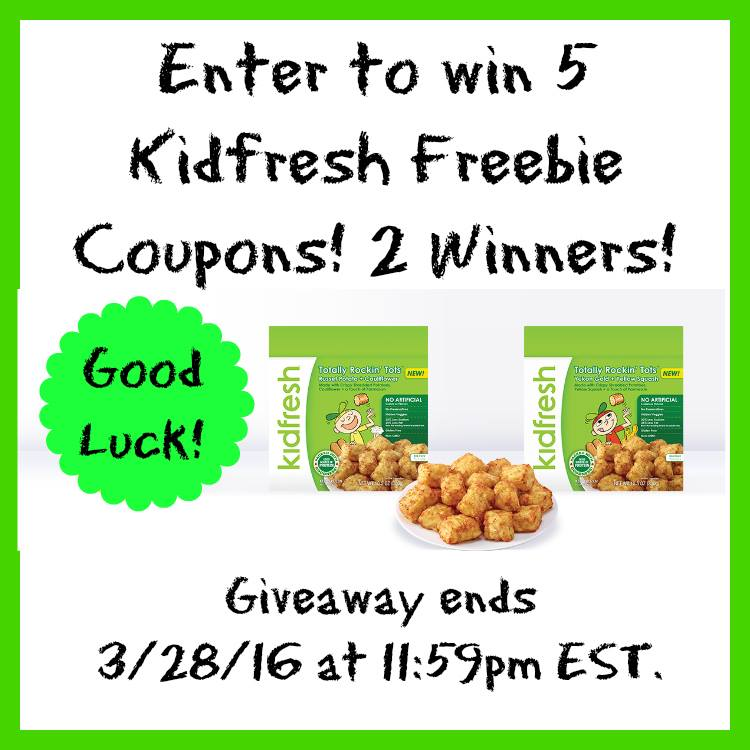 Kidfresh Giveaway
