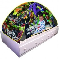 Playhut Teenage Mutant Ninja Turtles Bed Tent Playhouse ONLY $18.69