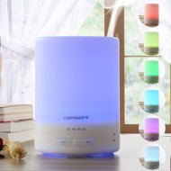 Aroma Essential Oil Diffuser, Ultrasonic Air Humidifier with AUTO Shut Off – 7 Color Changing LED Lights W/Timer Settings