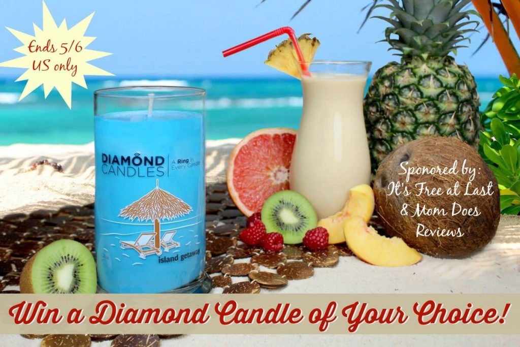 Diamond Candle Scent of Choice Giveaway