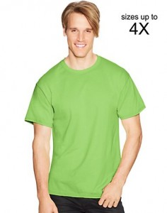 Hanes ComfortBlend® EcoSmart® Crewneck Men's T-Shirt's ONLY $3.49