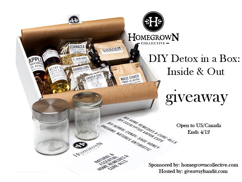 Homegrown Collective GREENBOX Giveaway
