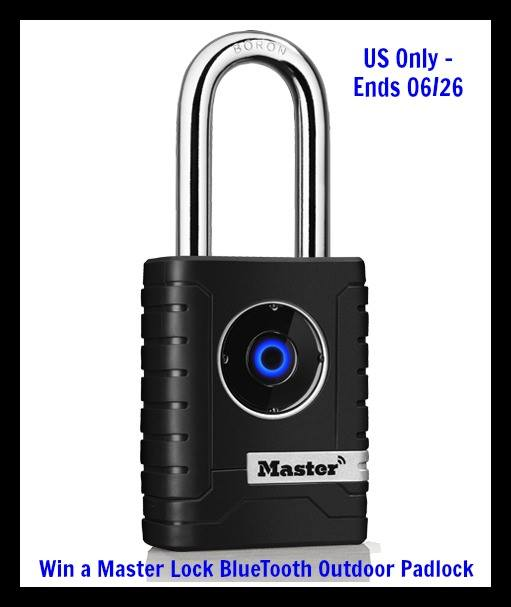 Master Lock No. 4401DLH Bluetooth Smart® Padlock Giveaway