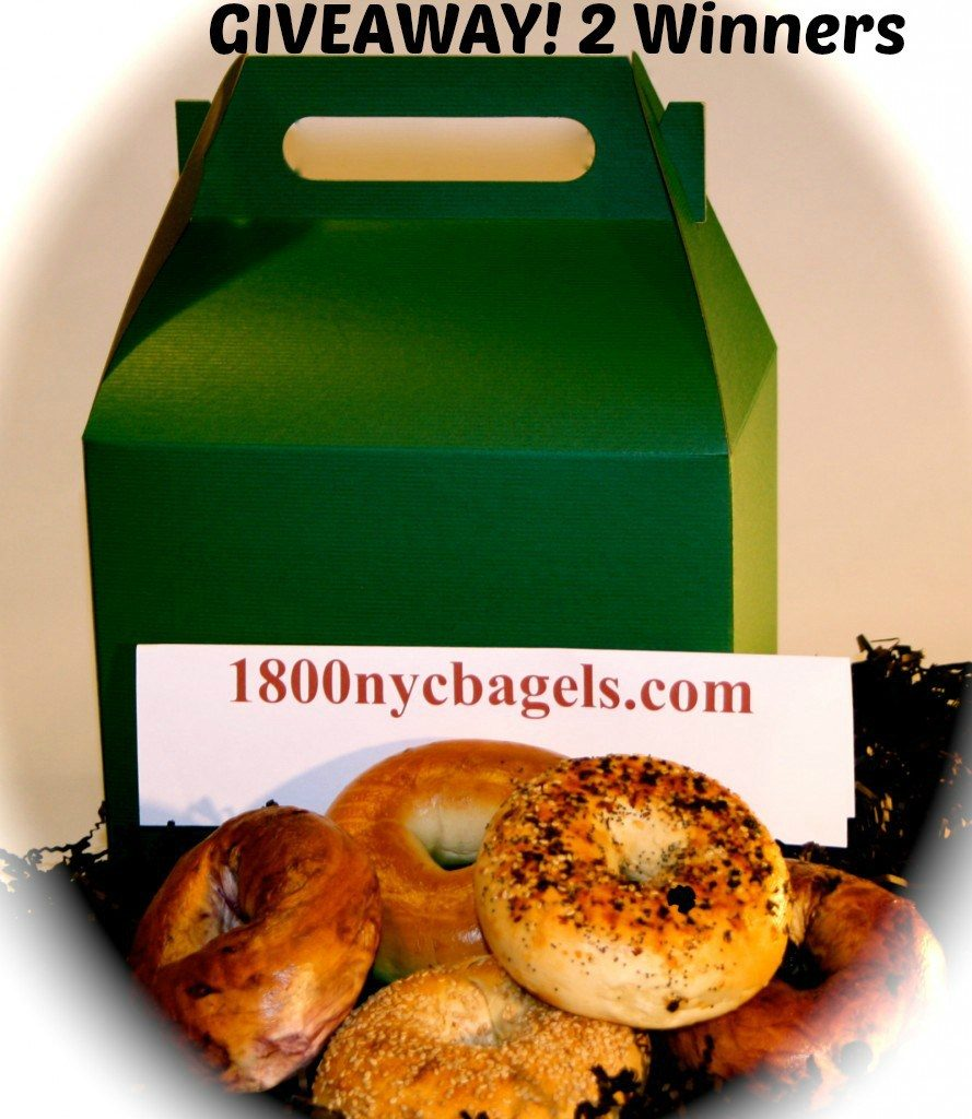 Gift Box of Assorted Fresh New York City Bagels Giveaway