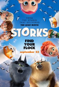 STORKS Movie is in Theaters NOW 9/23