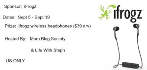 iFrogz Wireless Headphones Giveaway