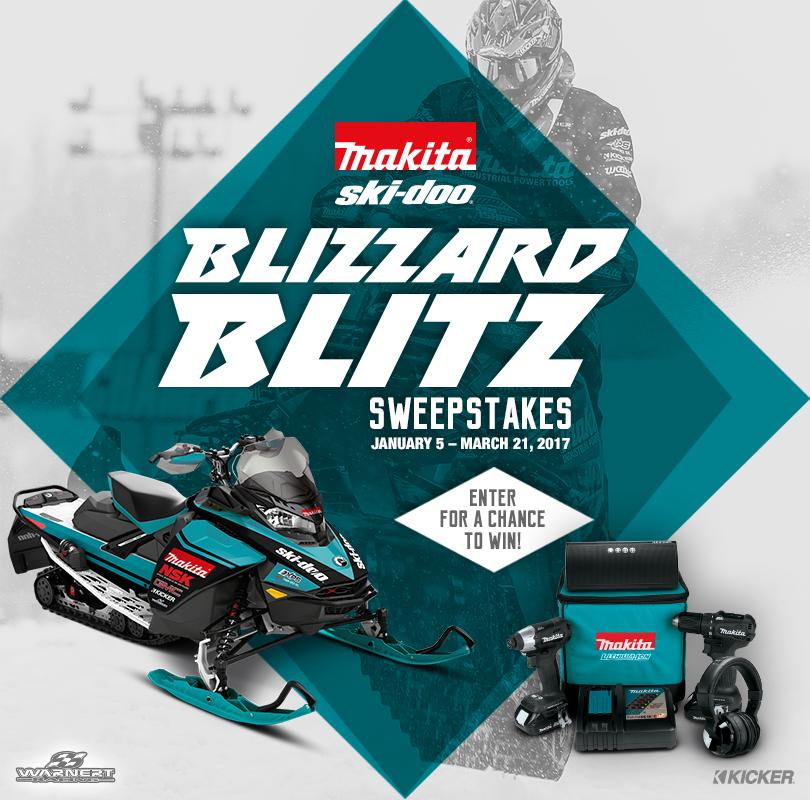 Blizzard Blitz Sweepstakes
