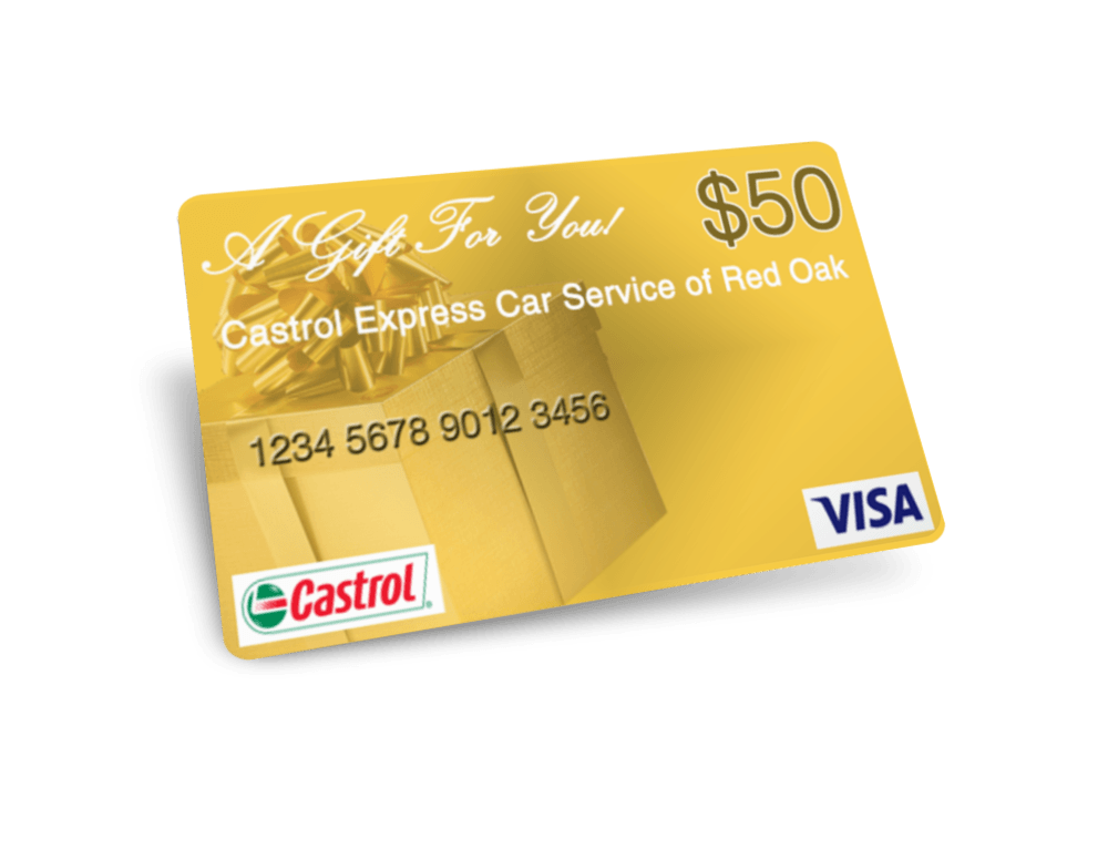 Castrol Express Car Service - $50 Visa Gift Card Sweepstakes