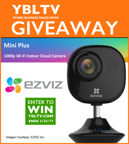EZVIZ Mini Plus 1080p Wi-Fi Indoor Cloud Camera Sweepstakes