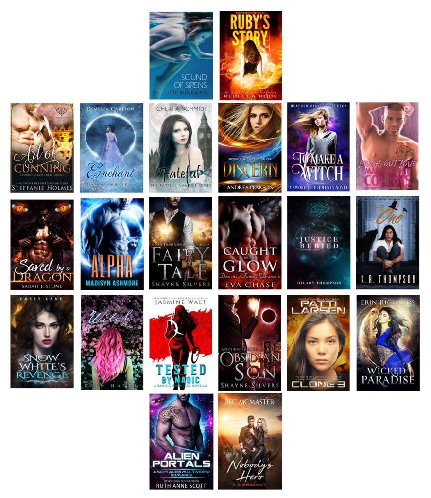 $1000 Gift Card and 22 Books Sweepstakes