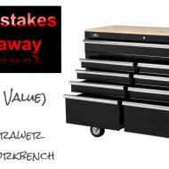 Husky 46 in. 9-Drawer Mobile Work Center Sweepstakes