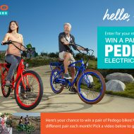 Pedego – Pair of Electric Bikes Sweepstakes