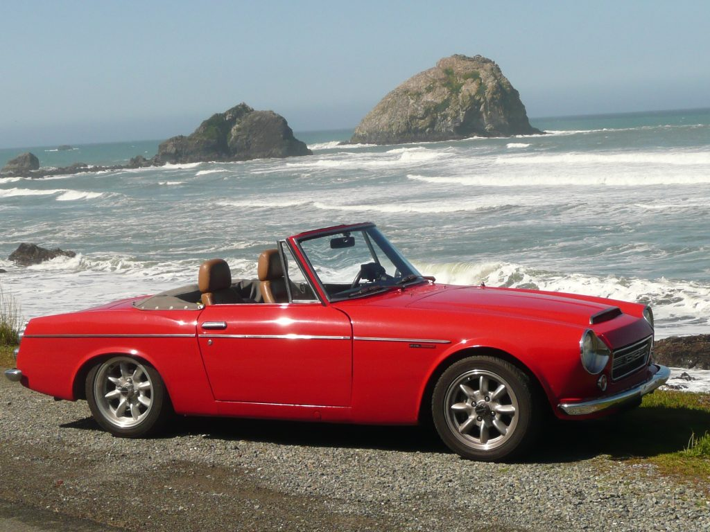 Restored Datsun Roadster Sweepstakes