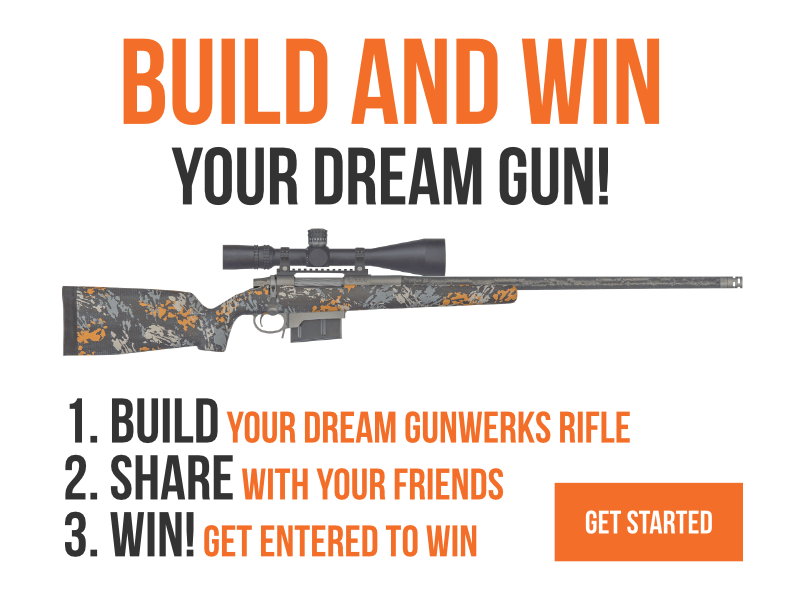 BUILD & WIN YOUR DREAM GUN SWEEPSTAKES