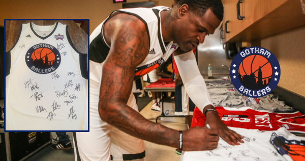 Signed Jersey by 18 former NBA players & $500 Gift Card Sweepstakes