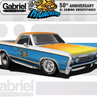 The Gabriel HiJackers 50th Anniversary El Camino Sweepstakes