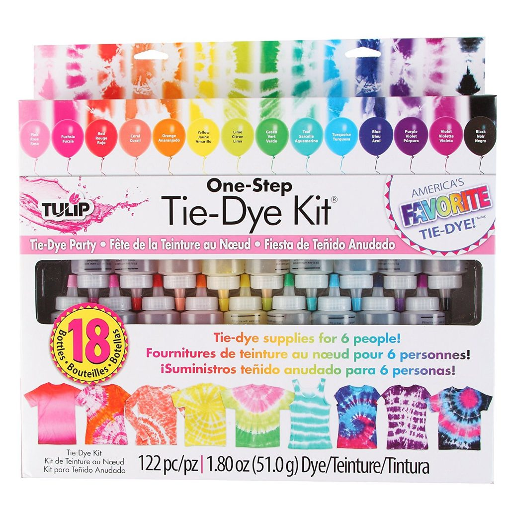 18-Color Tie-Dye Kit