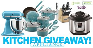 Kitchen Appliance Giveaway
