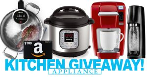 Win $700 in Kitchen Appliances! Unlimited Entries!